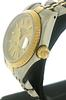 Rolex 2 Tone Datejust Champagne Stick Dial Watch