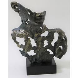 Dali Style Cold Cast Bronze Sculpture
