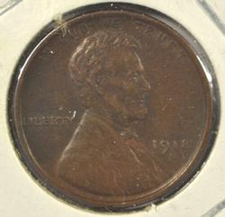 Nice 1918-D Lincoln Wheat Cent