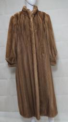 Beige Blonde Mink Coat
