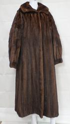 Geoffrey Beene Brown Mink Coat