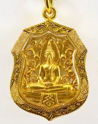 Exquisite Buddha Filigree Amulet Pendant Luang Po