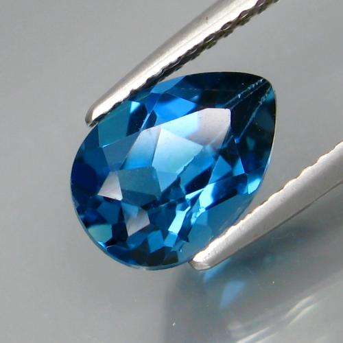 Ravishing true London blue 2.45ct Topaz
