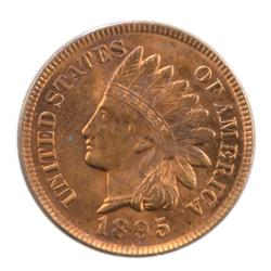 1895 Red BU Indian Head Cent