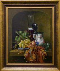 Dutch Master Painting of a Classic Still Life