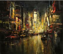 Metropolis by Spanish artist Blai Tomas Ibanez