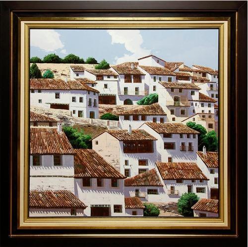 Captivating View of Spanish Coastal Town