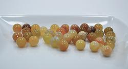 Botswana Agate Gemstone 37 Count 10mm Round Beads