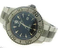 Invicta Sea Base Black Dial Stainless Steel Watch