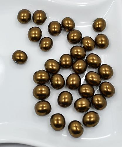 Bronze Baroque Shell Pearls 31 Ct. 15 x 13mm Beads