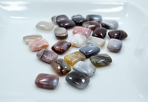 Talisman Botswana Agate Gemstone 25 Ct. Rectangle Beads