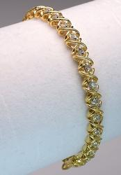 Diamond Tennis Bracelet, 14KT