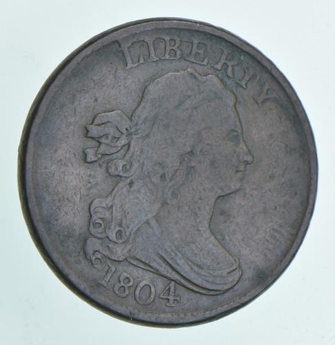 1804 Draped Bust Half Cent - C8