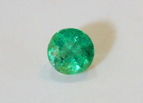 Kelly Green Natuarl Emerald - 0.73 ct.