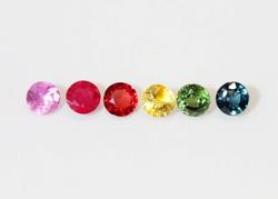 Natural Sapphires - Lot of 6