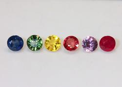 Colorful Lot of Sapphires - 1.42 cts.