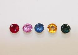 Kaleidoscope Suite of Natural Sapphires