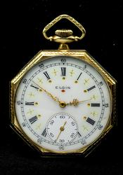 Ornate Elgin Pocket Watch, Working