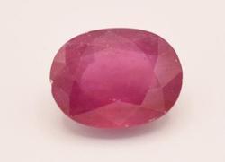 9.00 Carat Ruby Solitaire Gemstone