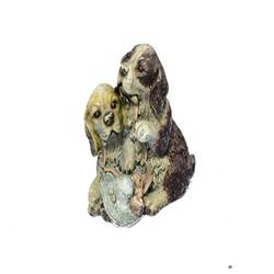 Yellow Lab Puppies Bronze Sculpture