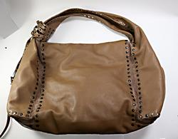 Jimmy Choo Leather and Suede Hobo Bag