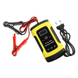 12V 6A Pulse Repair LCD Battery Charger For Car