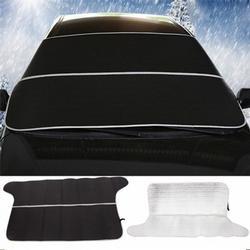 Multifunctional Aluminum Car Sunlight Snow Shield Mat