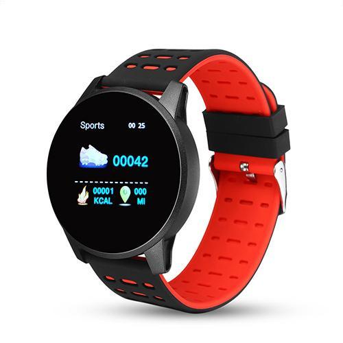 Heart Monitor Waterproof Social Message Smart Watch