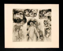 PIERRE-AUGUSTE RENOIR (AFTER) ETUDES 1919