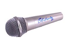Bruce Hornsby Autographed Signed Microphone UACC RD COA