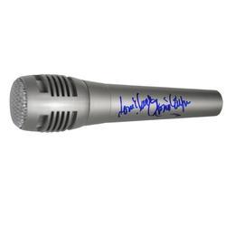 Gloria Estefan Autographed Signed Microphone