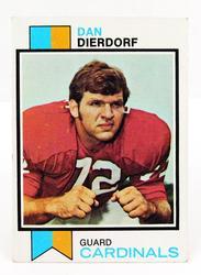 Dan Dierdorf, Cardinals 1972 Topps Football Card
