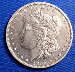 Nice Date 1895-O Morgan Dollar, Circ