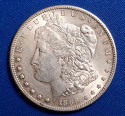 1889-S AU Morgan $