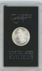 Nice BU 1884-CC Morgan Silver Dollar in GSA pack