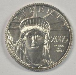 Gem NGC MS 69 graded 1999 pure Platinum $10 Eagle