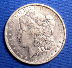 1896-O Choice Circ Morgan Dollar