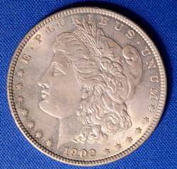 BU 1902 Morgan Dollar, Choice
