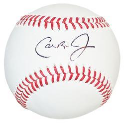 Cal Ripken Jr. Autographed Omlb Baseball Sweet Spot