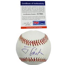 Jimmy Carter Former President Autographed Baseball