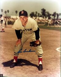 Lou Boudreau Autographed Signed Boston Red Sox Photo