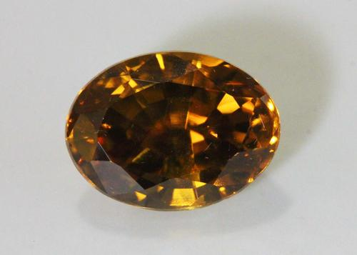 Radiant Natural Golden Zircon - 6.67 cts.