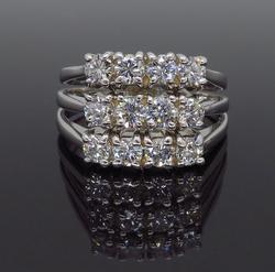 14K Yellow Gold 1.50CTW Diamond Ring