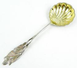 Antique Sterling Silver Berry Spoon