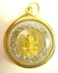 Rare Swarovski Crystal Ganesh (Ganesha) Amulet Pendant