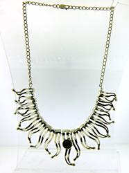 925 Sterling Silver Flame Necklace
