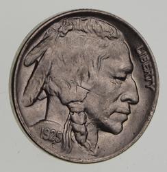 1925 Buffalo Indian Head Nickel - Uncirculated