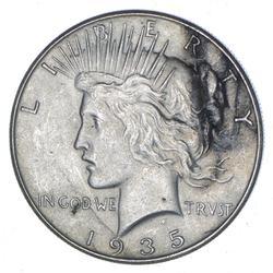 1935 Peace Silver Dollar - Choice