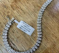 Amazing 5.0+ Carat Diamond Bracelet in 18kt Gold