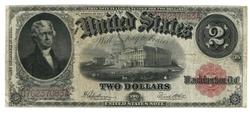 Series of 1917 Large Size $2 Legal Tender Note